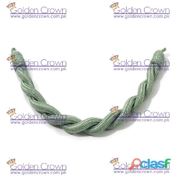 Military Officer Cap Cord Green 3