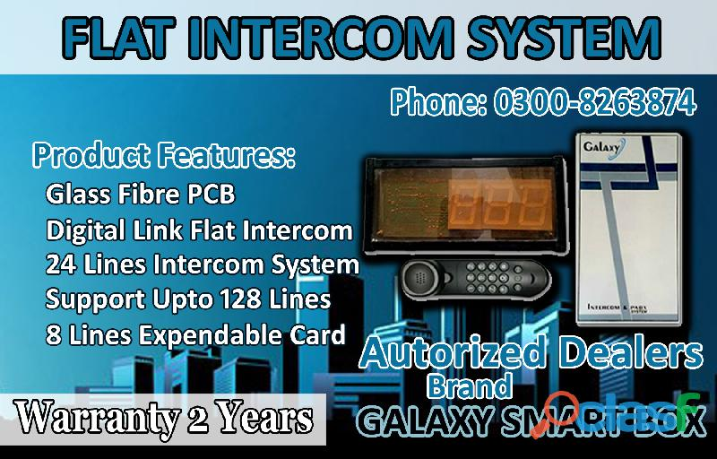 Branded Intercom Galaxy Smart Box Intercom For Flat Buildings 0