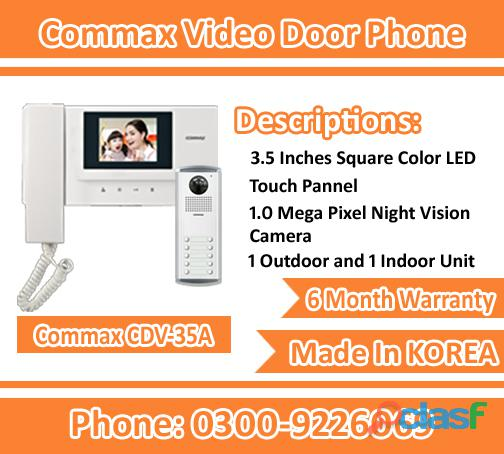 Branded Video Door Phone Model CDV 35A(Commax) Available 0