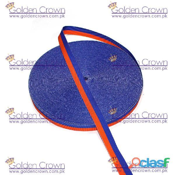 Medal Ribbon Blue And Orange 1