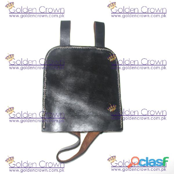 WWII Entrenching Tool Leather Cover 4