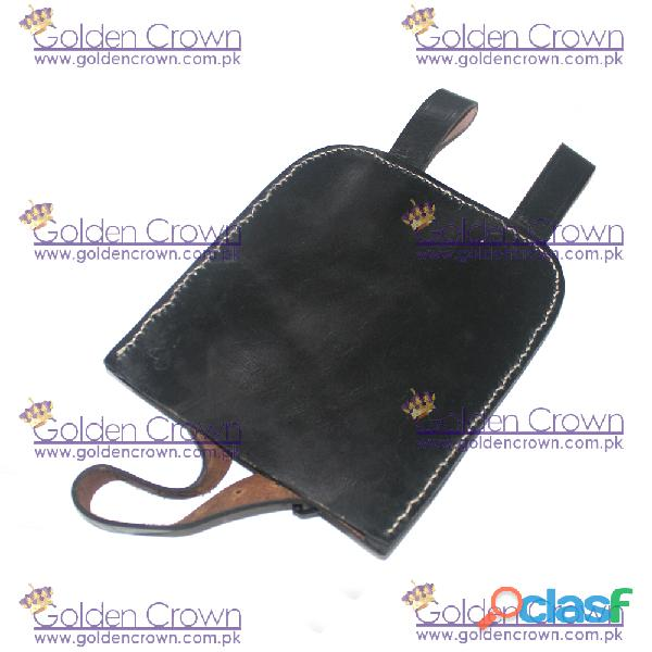 WWII Entrenching Tool Leather Cover 3