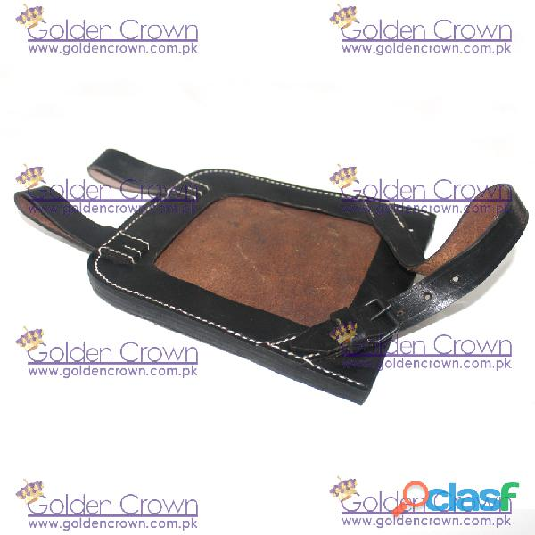 WWII Entrenching Tool Leather Cover 2