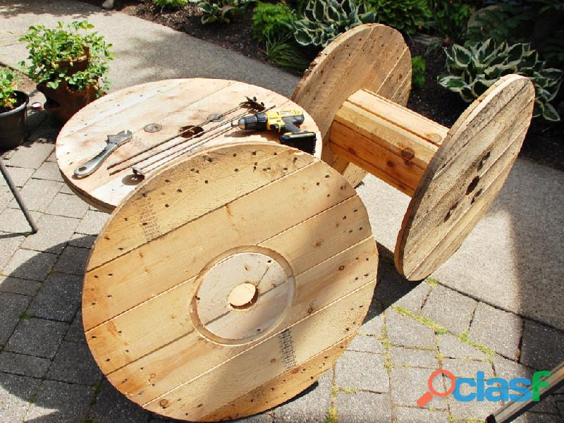 Wooden Cable Reel in Pakistan 3