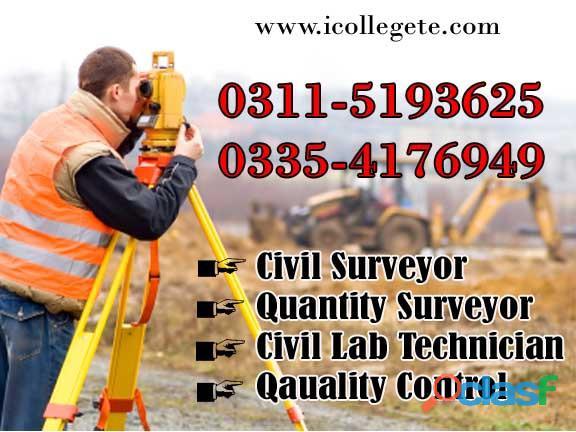 Government Diploma in Quantity surveyor (theory&Field work) course rawalpindi islamabad 3354176949 8