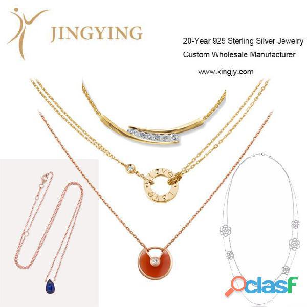 925 sterling silver bracelet bangles custom OEM supplier 0