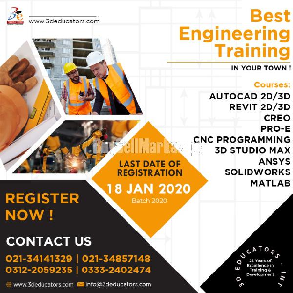 Engineering Courses offered by 3D Educators 0