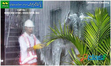 Window Glass Cleaning Services in Islamabad / Rawalpindi 2