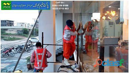 Window Glass Cleaning Services in Islamabad / Rawalpindi 1
