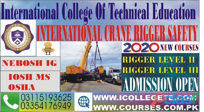 Qualified Rigger level 4 training course in rawalpindi pakistan 03115193625 4