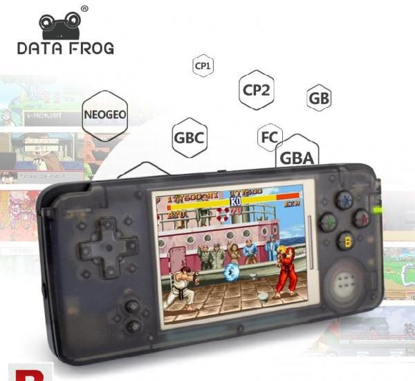 Data Frog Retro Handheld Game Console 3.0 Inch Console 0