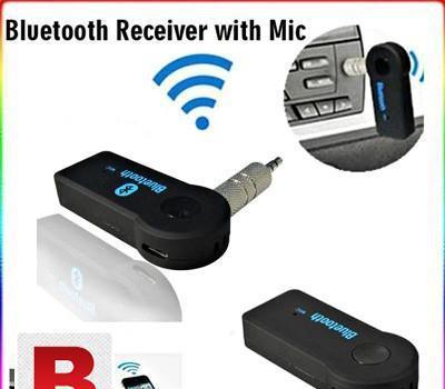 Car Bluetooth Music Reciever BT-350 with Mic 0