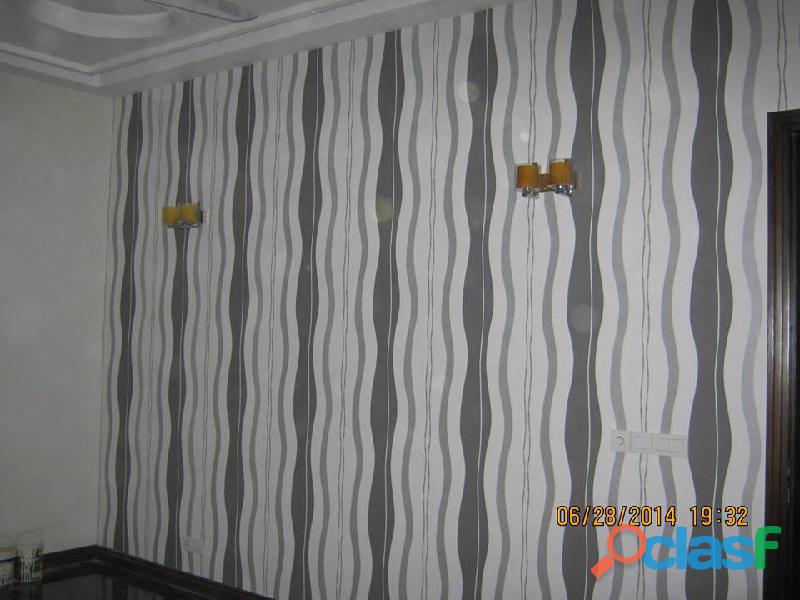 Wall papers in Allama Iqbal Town, Lahore 1