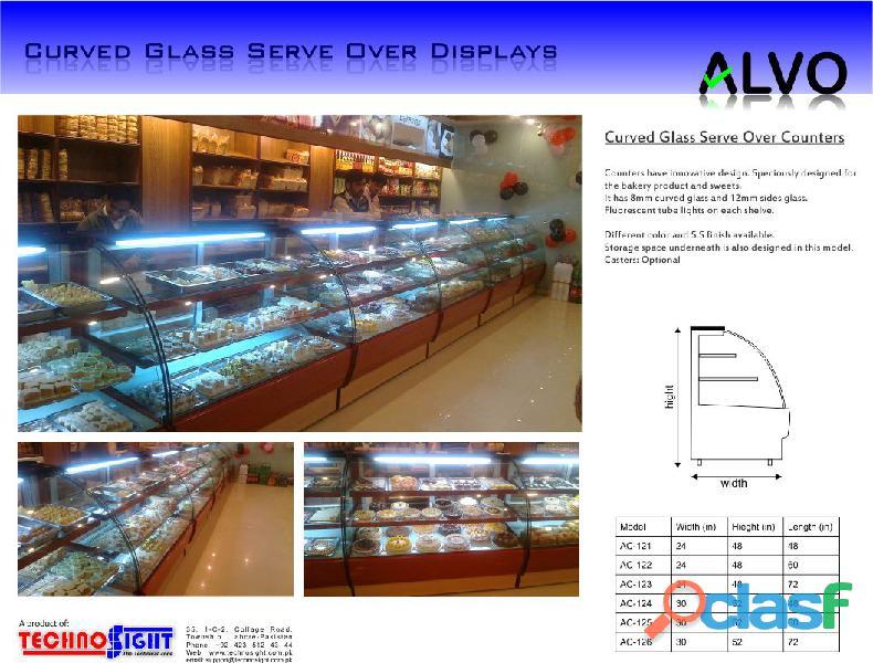 Bakery Display Chiller, Cake Counter, Cake Chiller, Bakery Counter 4
