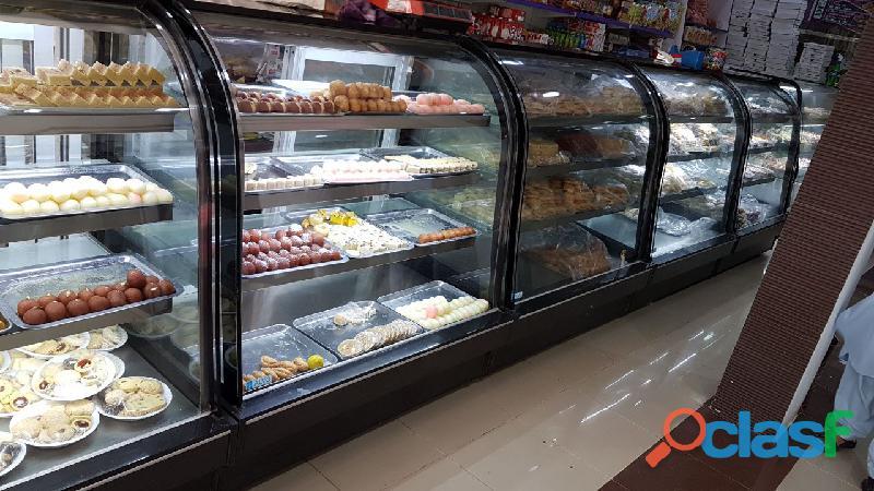 Bakery Display Chiller, Cake Counter, Cake Chiller, Bakery Counter 3