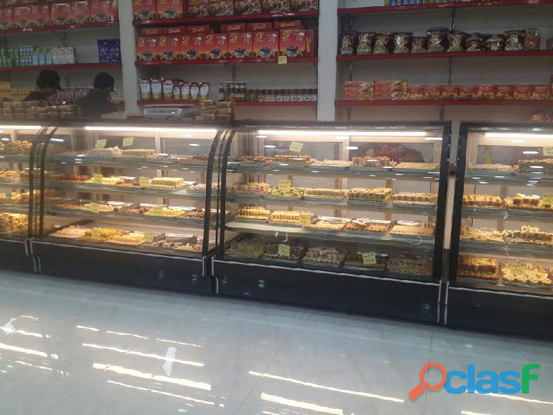 Bakery Display Chiller, Cake Counter, Cake Chiller, Bakery Counter 1