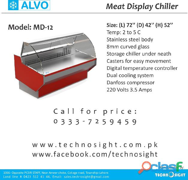 Chiller for meat display in pakistan