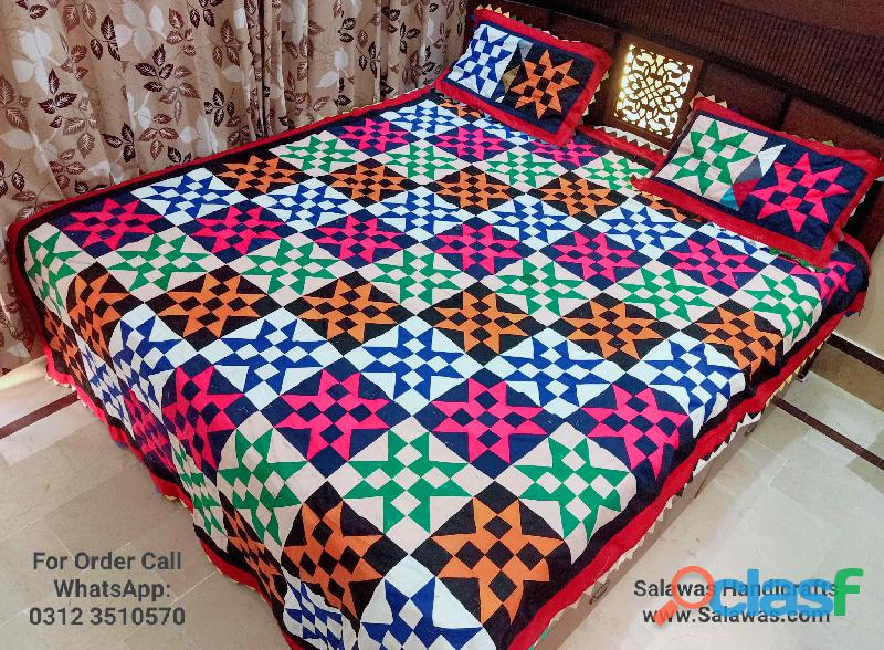 Sindhi ralli bed sheets best designs for sale