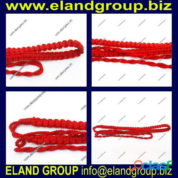 Army uniform braided lanyard