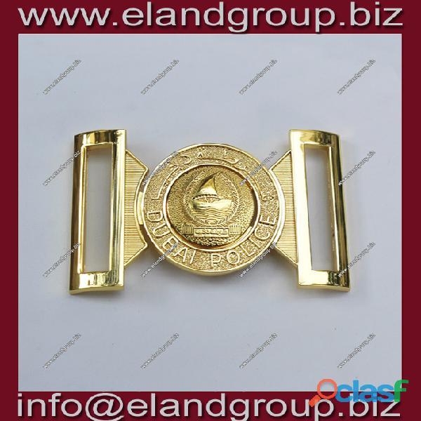 Dubai police belt buckle