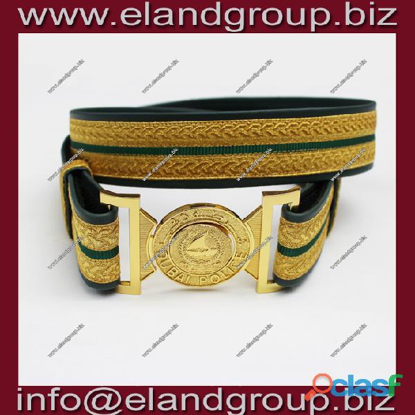 Dubai police waist belt