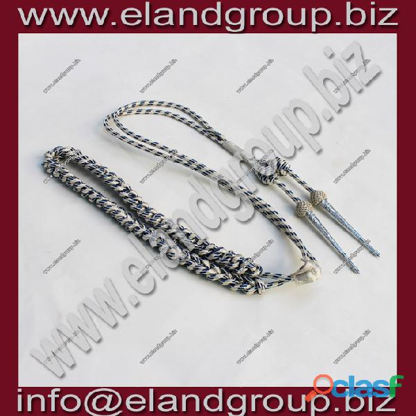 Malaysia officer Mylar Wire Lanyard