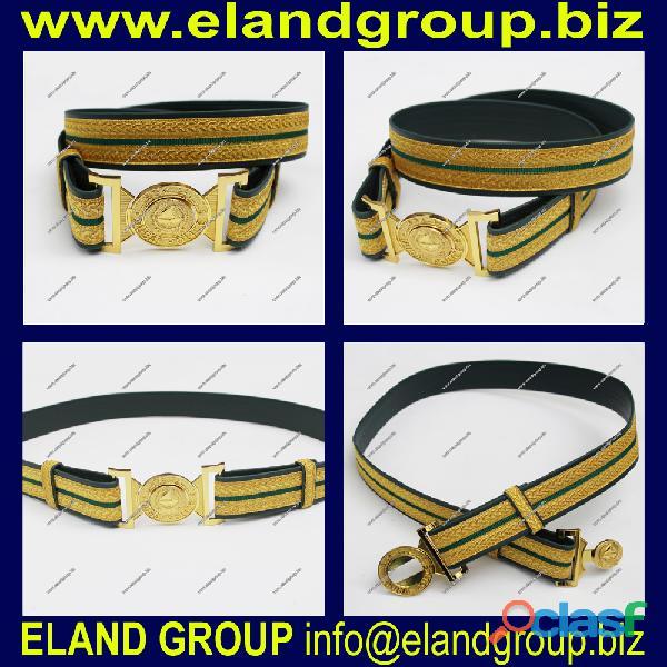Dubai police uniform waist belt supplier