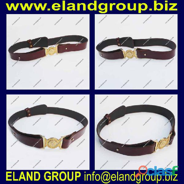 Dubai police leather waist belt supplier