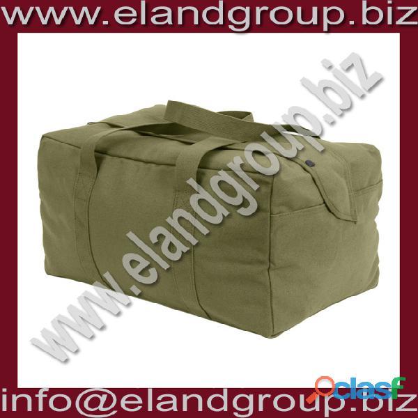 Canvas small parachute cargo bag