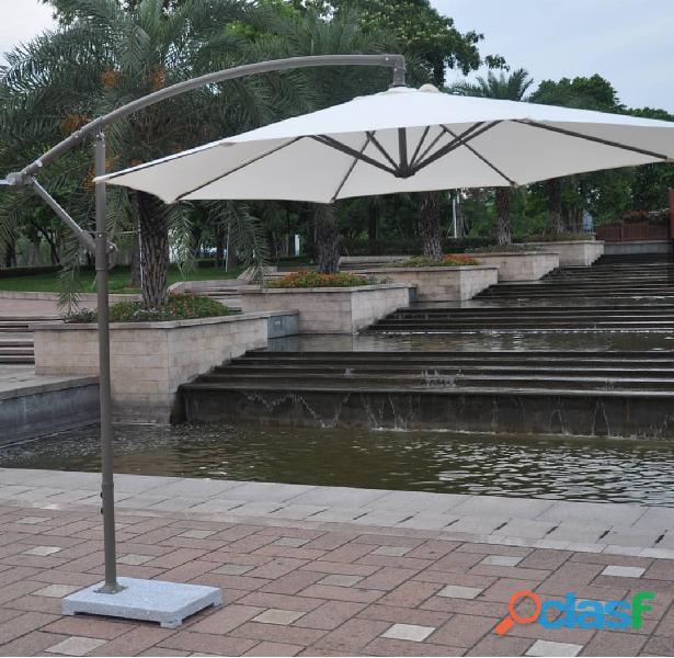 Side bar Umbrella, Banana Umbrella by Macci Tent House
