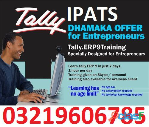 Certificate in Finance & Budgeting Quickbooks PT,Talley ERP Course details 2