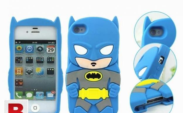 3d cartoon soft silicone rubber case cover for apple &