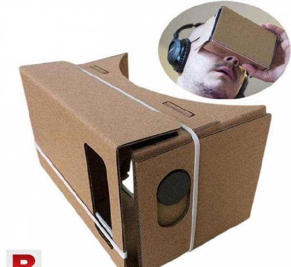 3d vr glasses hardboard for google cardboard free delivery