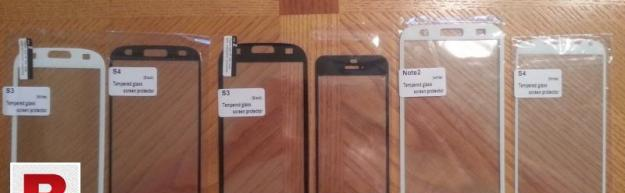 All mobile phones glass protector are available
