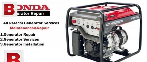 All karachi generator repair installation service 24hr