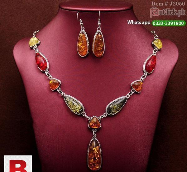 Beautiful necklace + earrings wedding sets