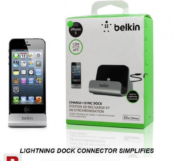 Belkin charge sync dock for apple iphone ipads