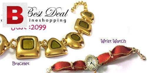 Bracelet & watch for girls deal 511
