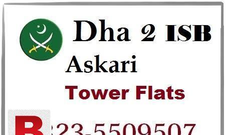 Brand new flat dha 2 askari tower