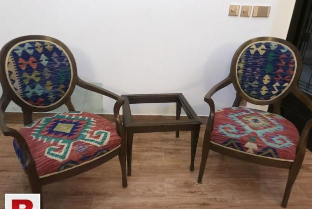Brand new bedroom chair set with hand made uphostered