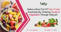Buy fruits and vegetable online through selly.pk, lahore