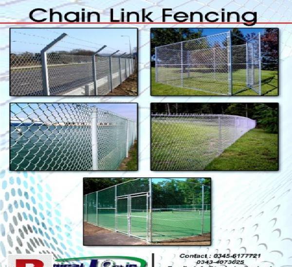 Chain link fence karachi