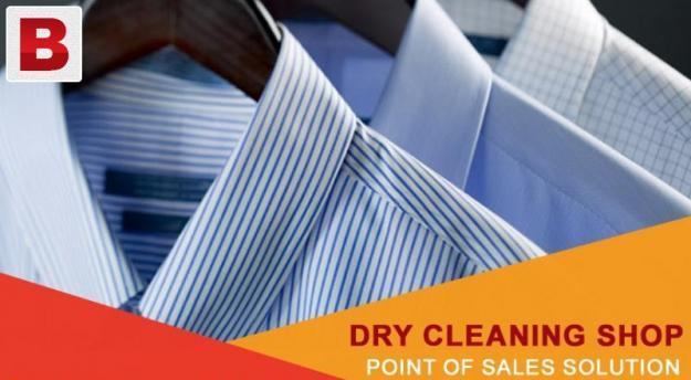 Dry cleaning shop point of sales solution
