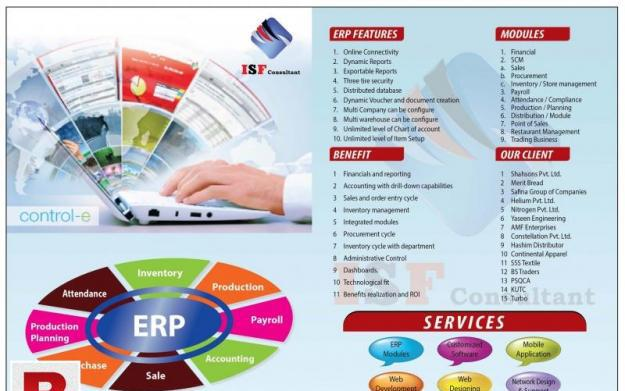 Erp managment system / business software