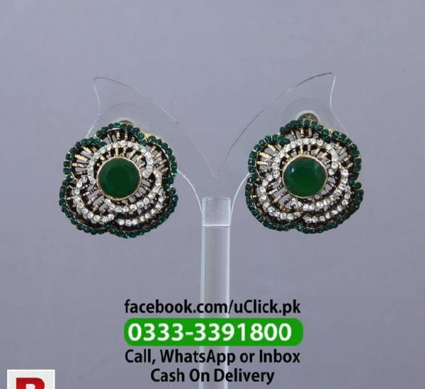 Ear top flower shape green imported