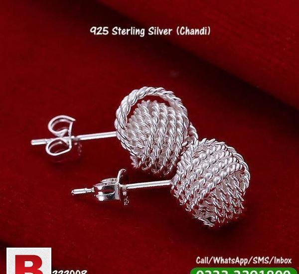 Ear tops sterling silver