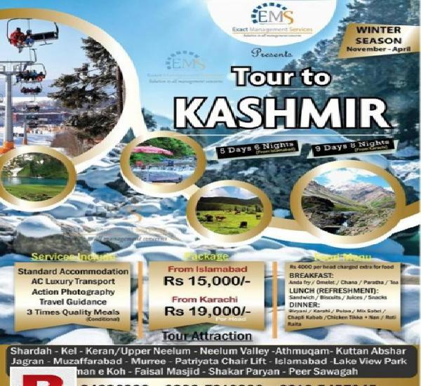 Enjoy your winter vacation in kashmir with ems-tours &