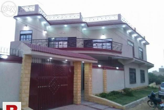Gulshan iqbal blk 7 banglow for sell