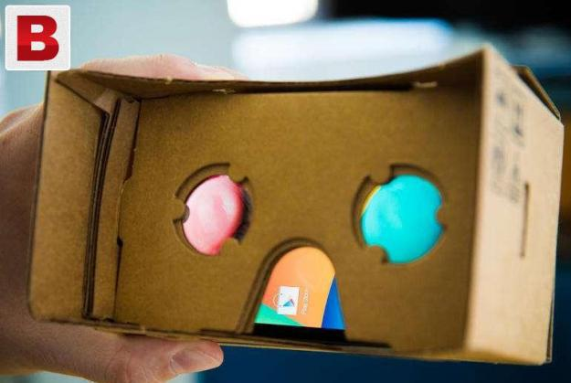 Google cardboard virtual reality 3d glasses for iphone