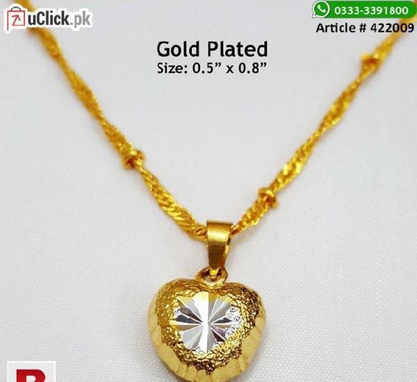 Gorgeous heart pendant necklace